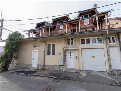 Casa situata pe colt cu terasa, ultracentral pe Sucevei
