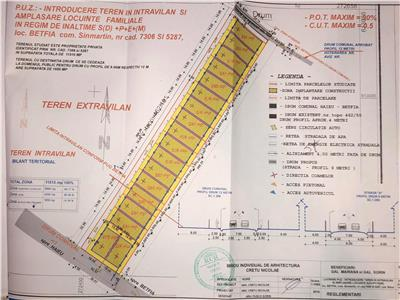 Oportunitate: Parcele de teren in Betfia D+P+E+M